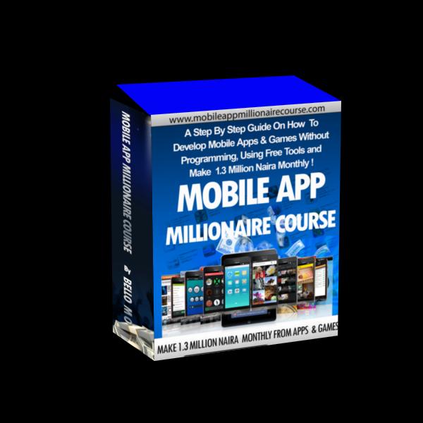 mobile app millionaire course